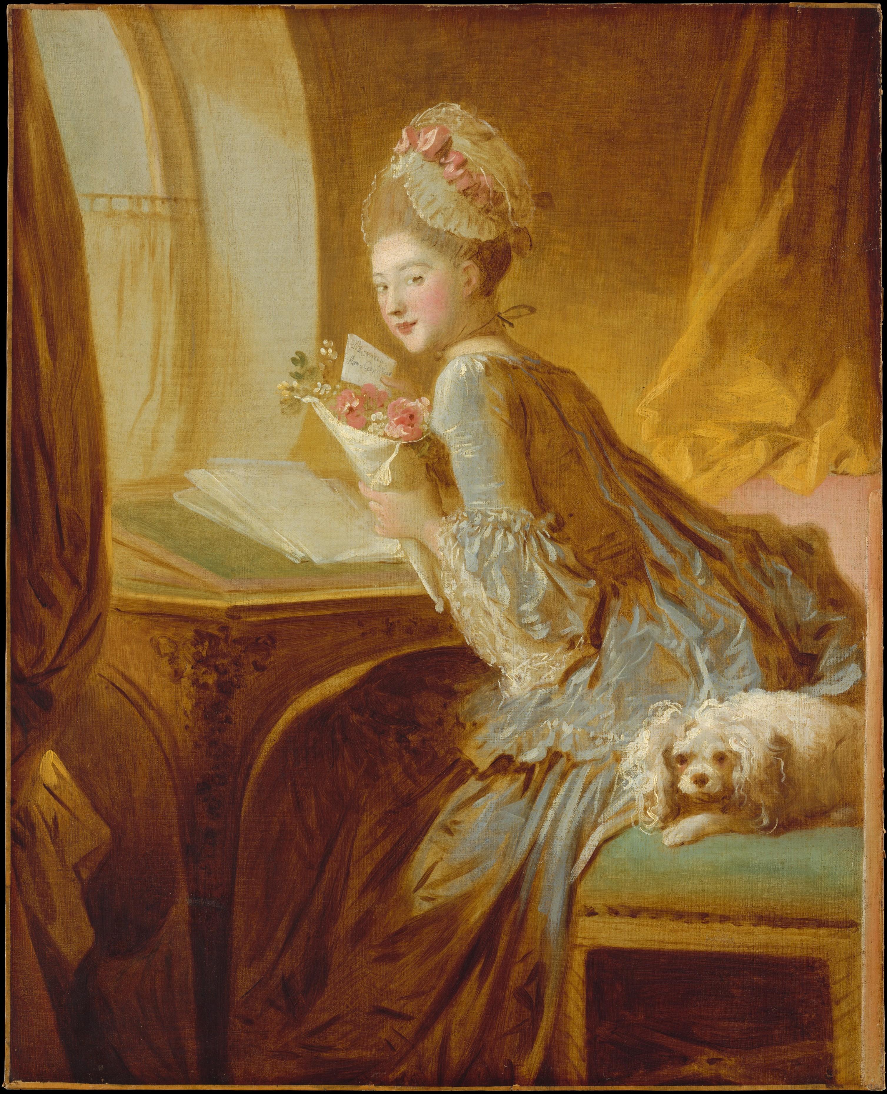 Jean Honore Fragonard, The Love Letter