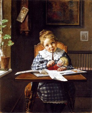 The Letter by Hermann Lang