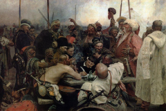 The Reply of the Zaporozhian Cossacks to Sultan Mahmoud IV (1891)