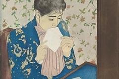 The Letter by Mary Cassatt (1890-91)