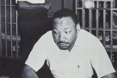 Martin Luther King in jail with Ralph Abernathy 1968