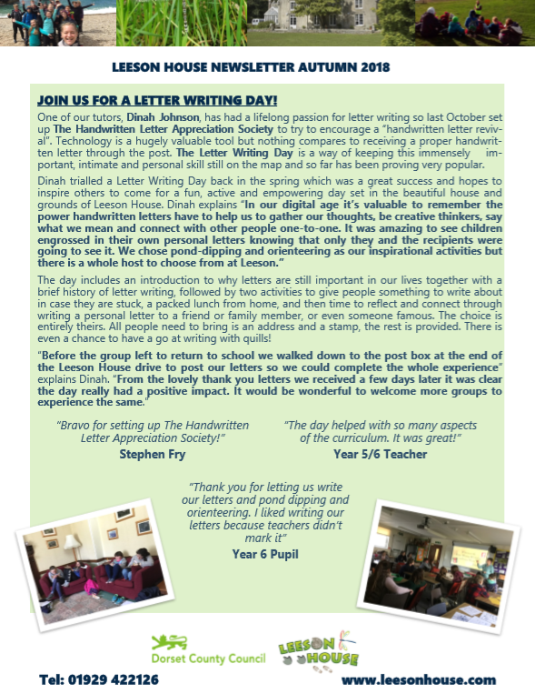 Leeson Newsletter