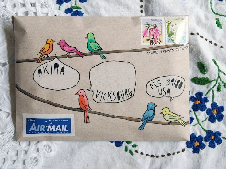 Envelope Art