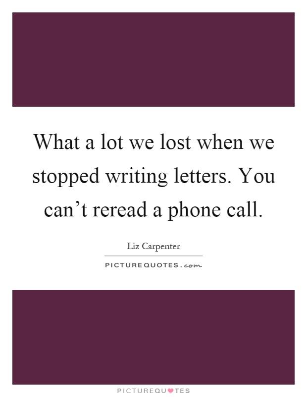 Liz Carpenter