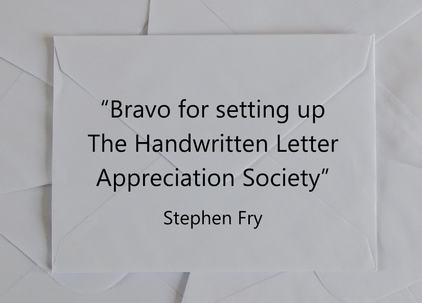 Quotes the handwritten letter appreciation society stephen fry spiritdancerdesigns Choice Image
