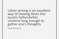 Letter Writing Nick Bantock